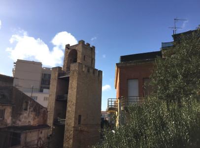Vista soggiorno e balcone App. 1
