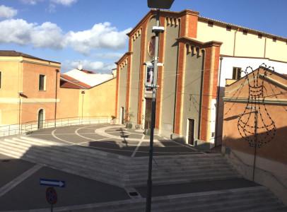Chiesa San Sebastiano.Vista dal soggiorno e camera